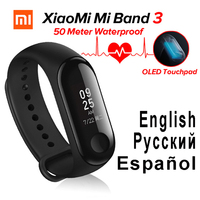 Original miband3 xaomi band 3 Heart Rate Monitor Cardiaco Xiaomi Mi band 3 mi fit Fitness Tracker Xiomi Smart band Bracelet