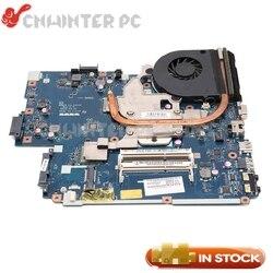 Nokotion mbbl002001 placa-mãe para acer aspire 5551 LA-5912P com dissipador de calor em vez placa-mãe para acer 5552g LA-5911P cpu livre