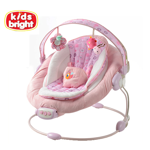 Bright Starts Schommelstoel Roze.Gratis Verzending Bright Begint Automatische Baby Vibrerende Stoel