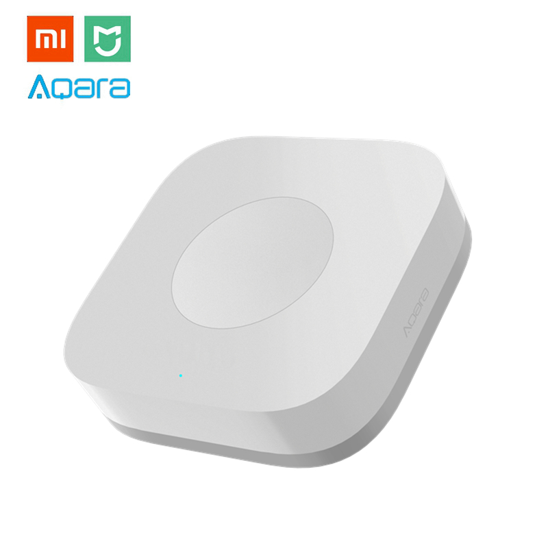 New Xiaomi Aqara Smart Wireless Switch Mini With Gyro House Remote Controller for Mi Home APP & MIJIA Multifunctional Gateway flawless kaş bıyık tüy epilasyon aleti