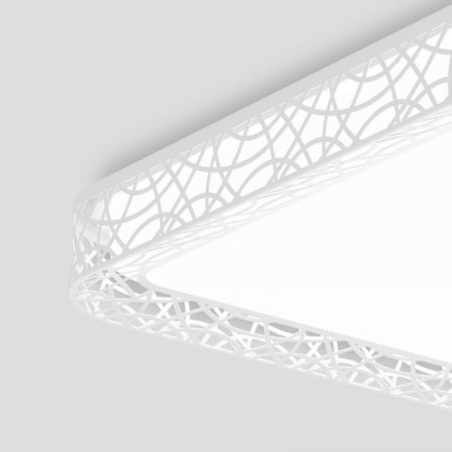Image 4 - Yeelight YILAI YlXD07Yl 110W Rectangle Style Hollow LED Ceiling Light Pro 220 240V For home APP Remote Night LightCeiling Lights   -