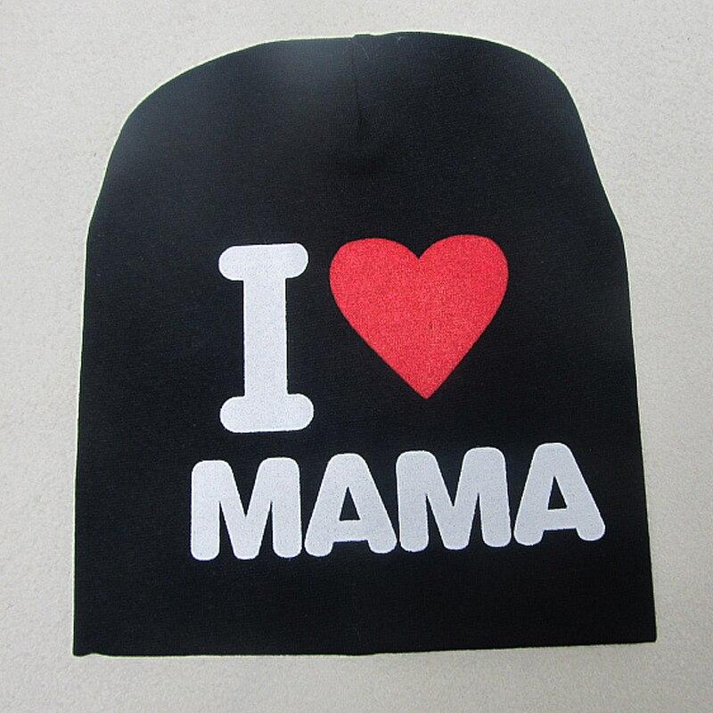 Neue 0-2 Jahre Iove MOM Love DAD Brief Baumwolle Babymütze Cap Girl - Babykleidung - Foto 2