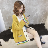 New Fashion Cardigan 2019 Winter Fashion Autumn Winter Cardigan Clothing For Women Korean Sweaters Christmas Sweater