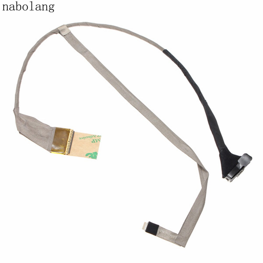 LCD Screen Display Cable For HP Pavilion G6 G6-1000 LVDS CABLE DDOR15LCOOO Repair parts for HP G6 G6-1000 LCD video cable ноутбук бу hp pavilion g6