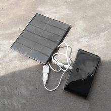 3.5W 6V Solar Charger USB Charger Universal Solar Power Pane