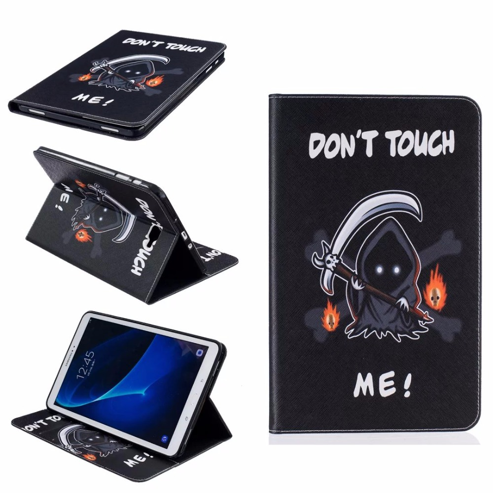 High Quality Fashion painting Book Case Cover For Samsung Galaxy Tab A A6 2016 T585 T580 T580N 10.1 inch Tablet + Stylus + Film kanor octa core android 7 1 2 32g 1024 600 2din car radio for nissan juke 2004 2012 in dash 2 din car gps navigation wifi usb