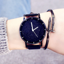 купить Luxury Women Watches Big Dial Female Wristwatch Waterproof Ladies Watch Fashion Star Watch Clock relogio feminino zegarek damski по цене 194.74 рублей