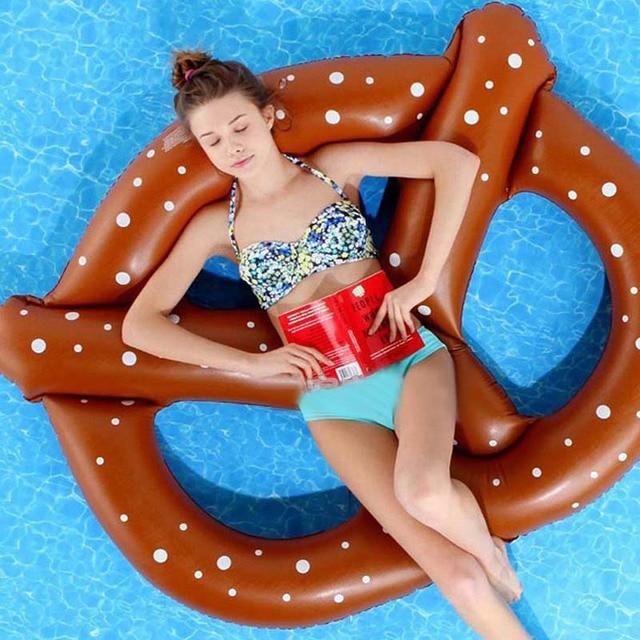 3 Pessoas Gigantesca Piscina Rosquinha Rosquinha Flutuante Flutua Flutuadores Infláveis Brinquedos Piscina de Natação de Praia Inflável Nadar Brinquedo Da Água