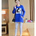 casual Plus thick velvet Breastfeeding Nursing T-shirts