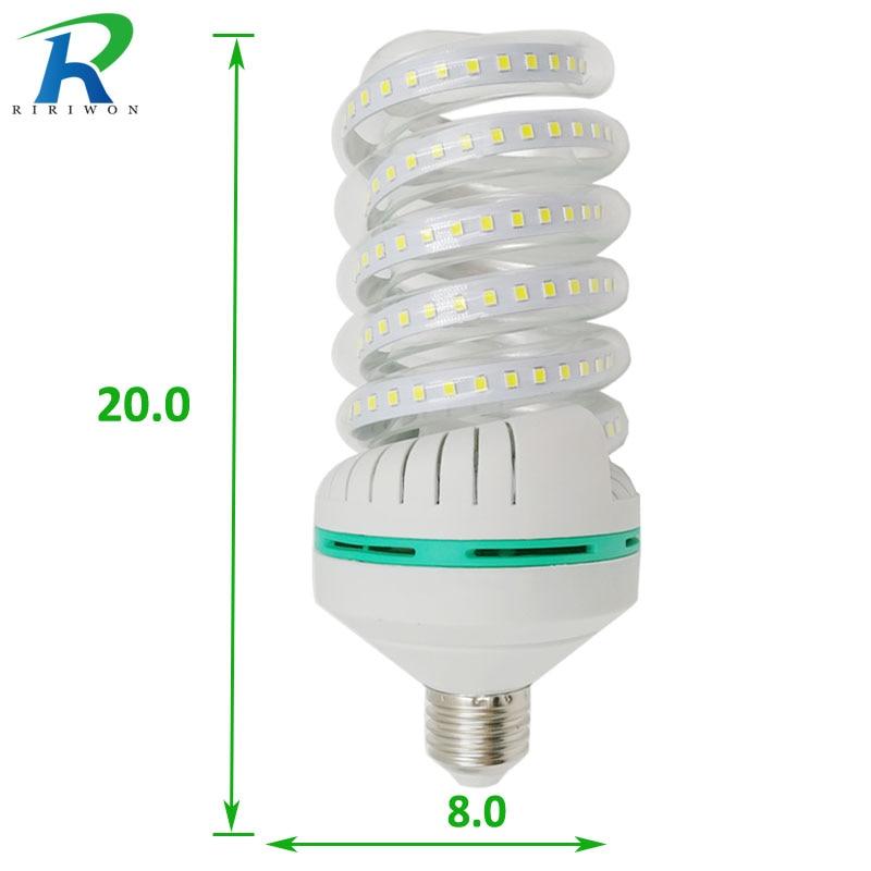 RiRi won E27 LED light Bulb Lamp E27 220V Light Bulb Smart IC Real 32W Power Brightness Lampada LED Bombilla for home decoration