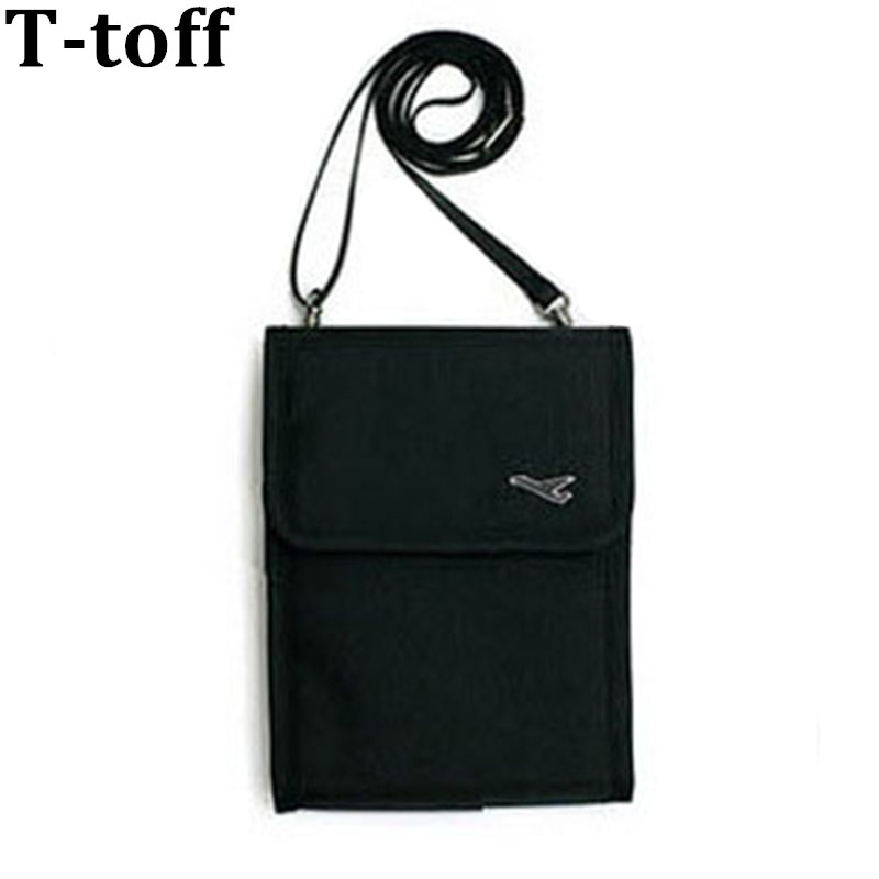 цены Women Messenger Passport Cover Travel Wallet Document Holder Inclined shoulder bag Passport ID Credit Card Holder