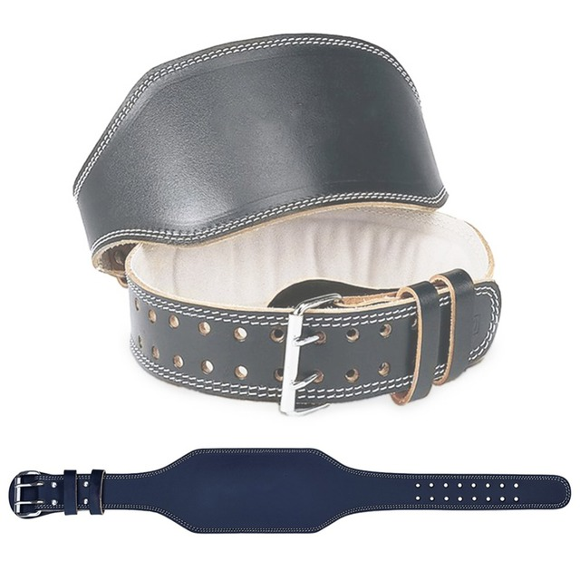 Quincy Leather Weightlifting Belt