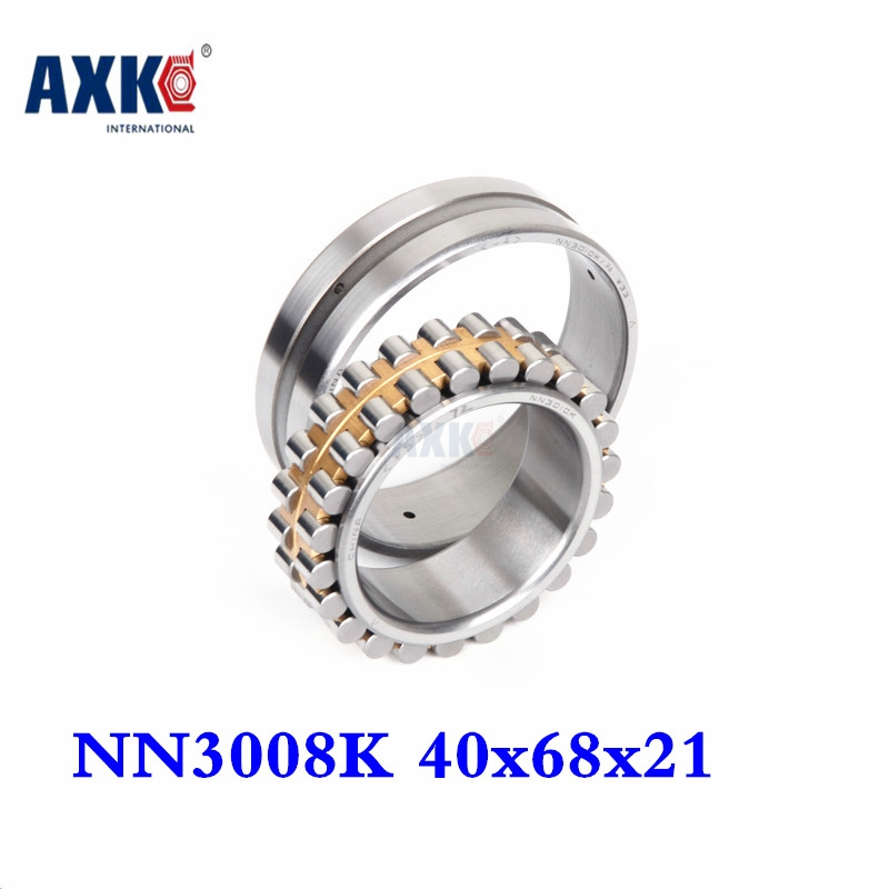 2018 1pcs Bearing Nn3008k Sp 3182108 40x68x21 Nn3008 3008 Double Row Cylindrical Roller Bearings High-precision Machine Tool 50mm bearings nn3010k p5 3182110 50mmx80mmx23mm abec 5 double row cylindrical roller bearings high precision