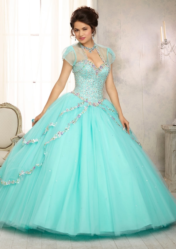 Online Shop 2017 Mint Green Quinceanera Dresses Sweetheart Pleat ...