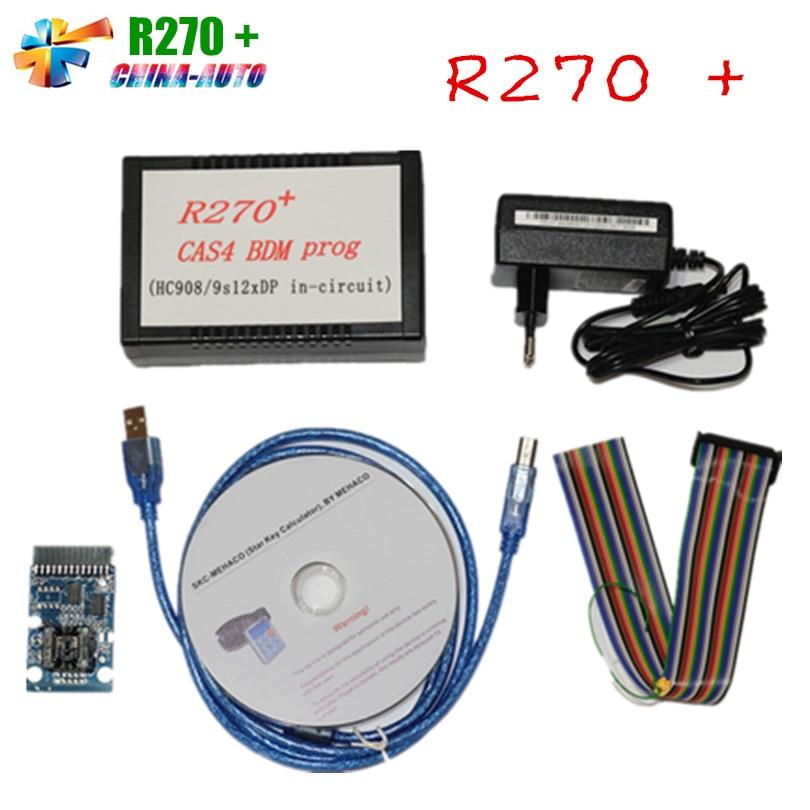 ФОТО 2016 High Quality R270+ CAS4 BDM Programmer For B-M-W Professional Auto Key Programmer R270 Free Shipping