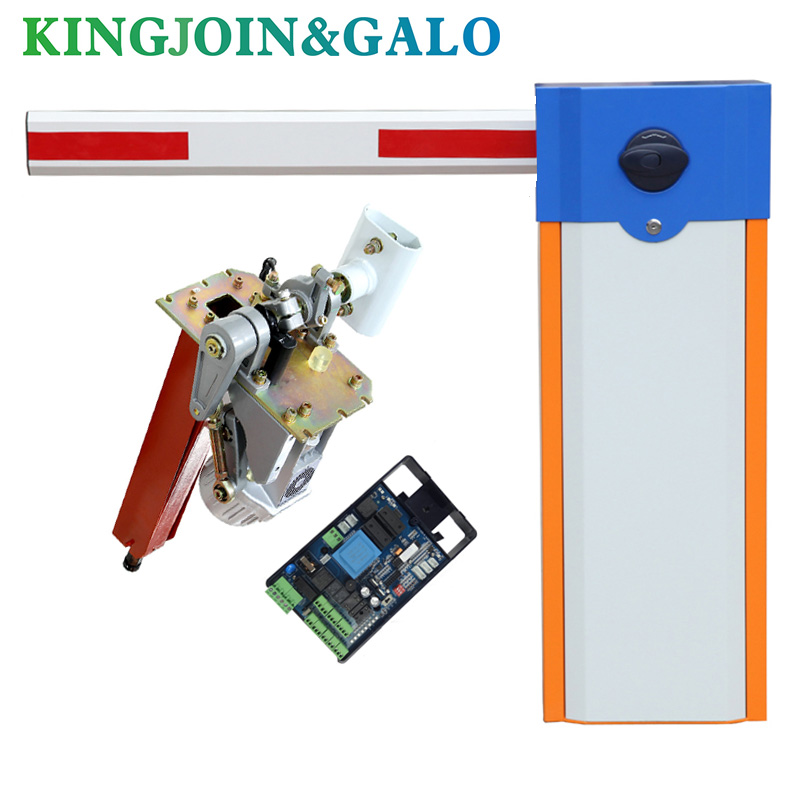 Parking Lot Automatic Boom Barrier System Gate And Gate Arm Barrier