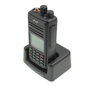 Image 4 - TYT MD UV380 Dual Band 136 174Mhz & 400 480MHz Walkie talkie DMR Digital Two Way Radio MD 380 dual time slot transceiver + USB