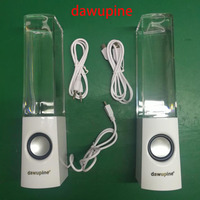Dawupine Dancing Water Speaker Mini USB LED Light Bluetooth Speaker For Mobile Phone Ipad Lapto MP3
