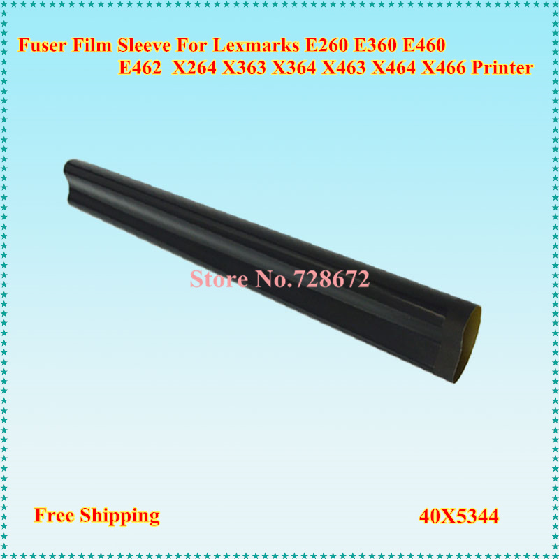 Compatible And New A Grade Fuser Film Sleeve for Lexmark E260 E360 E460 E462 X264 X363