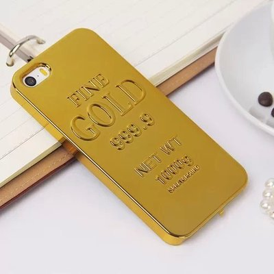 new style c762a 430ae US $7.89 |Special Cool design 2014 New bullion wallpaper Luxury golden gold  bar back cover phone case for iPhone 5 5S 5G Free Shipping on ...