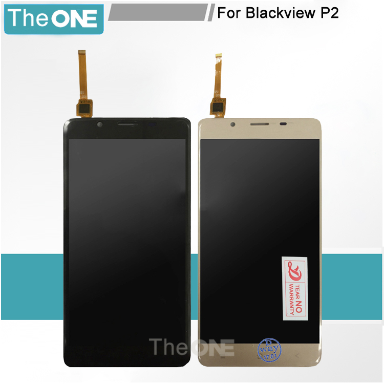 Y prueba de 5.5 ''Para Blackview P2 P2 Asamblea Digitalizador pantalla Lcd de re