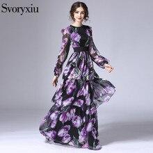 Long Dresses Print Maxi