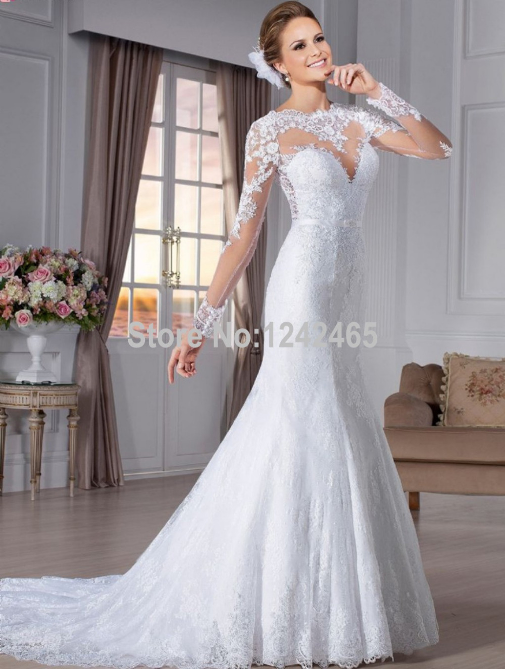 Vintage inspired sexy wedding dress wedding dresses dressesss for Vintage mermaid style wedding dresses