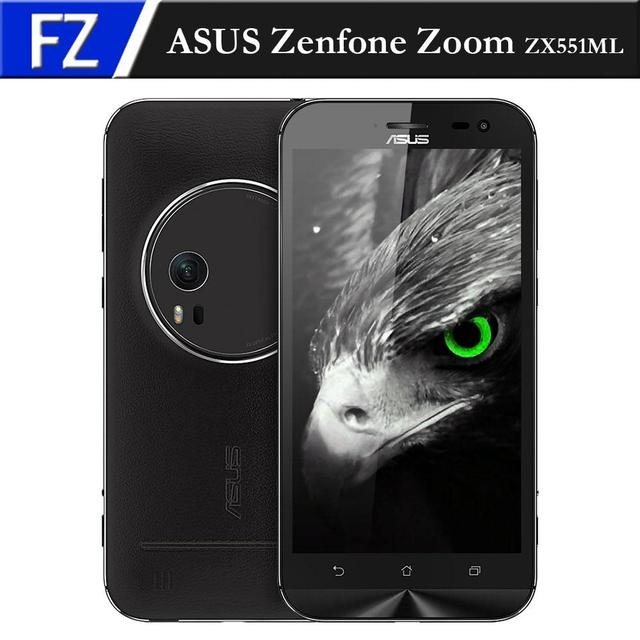 "Новый ASUS Zenfone Увеличить ZX551ML 5.5 ""fhd atom z3580 quad-core android 5.0 4 г телефон 4 ГБ ram 64 ГБ rom 13mp 3x оптический-зум nfc"