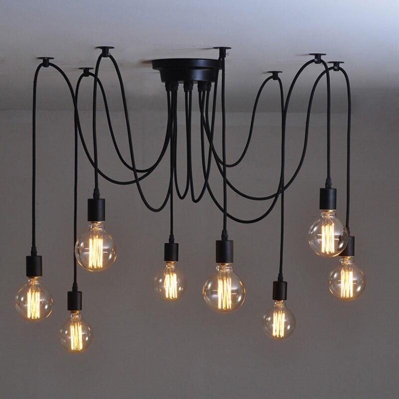 23 14 30 De Reduction Moderne Plafonniers Luminaires Luminaria Lamparas De Techo Pour Salon Chambre Bar Accueil Boutique Vintage Plafond Lampe In