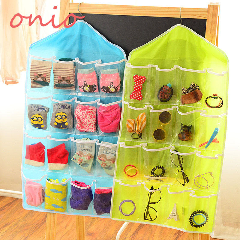 Baby Underwear Nappy Bags Toy Socks Case Dustproof Storage Collect Diaper Bags Foldable Basics Fabric Storage