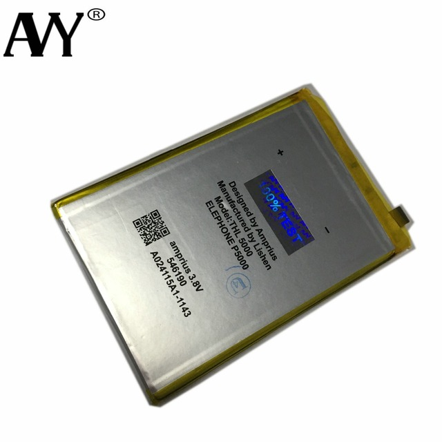 Battery For THL 5000 THL5000 Mobile phone Rechargeable Li-ion Batteries Batteria 100% Tested In Stock repair Tools