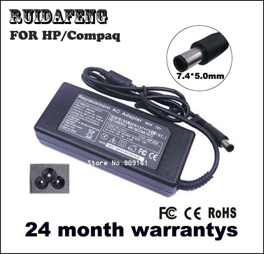 Laptop AC Adapter 19v 4.74a 7.4mm * 5.0mm 90w voor HP Compaq notebook - Notebook accessoires