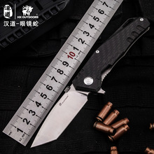 High quality bearing TC4 Titanium handle VG10 blade knife hunting camping outdoor self-defense tactical army Survival