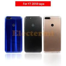 10 Uds Y7 2018 Tapa de batería Carcasa Trasera funda de puerta trasera para Huawei Y7 2018 Y7 Prime 2018 cubierta de batería envío gratis