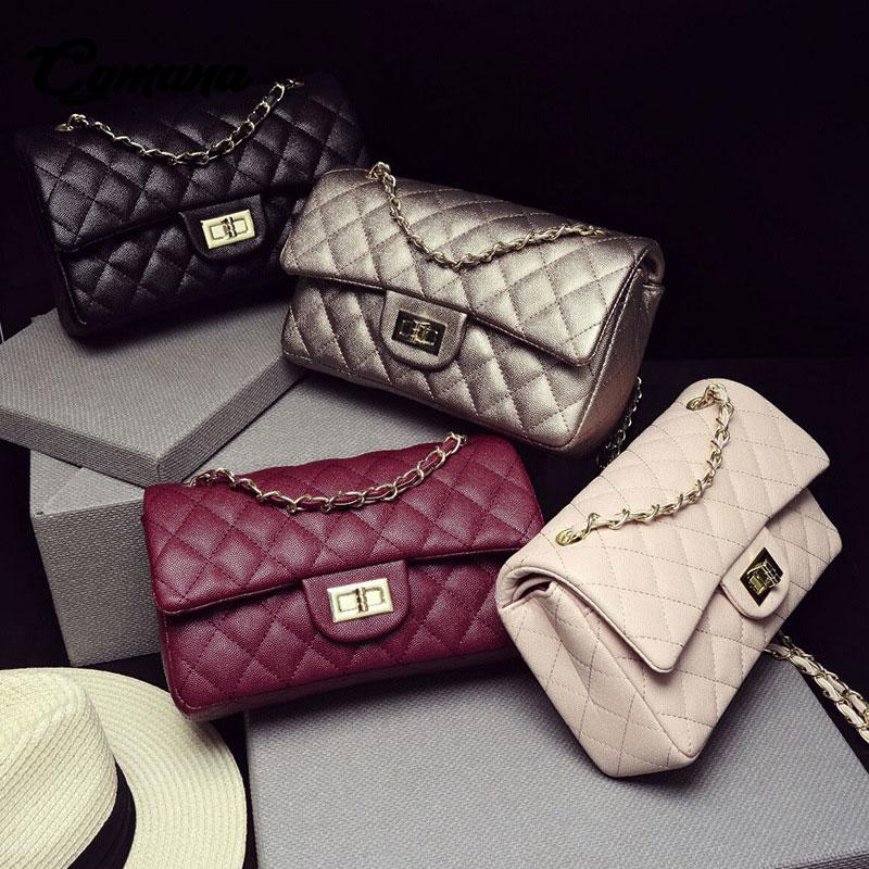 CGmana Luxury Women Bag 2018 High Quality Handbags Famous Designer Women Crossbody Bag Leather messenger bags Ladies Tote bolsa