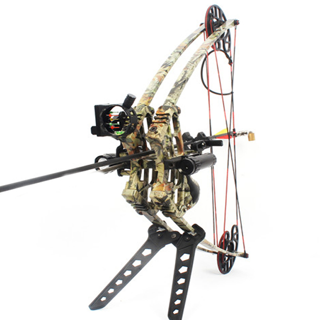 50lbs Compound Bow Archery Hunting Triangle Bow for Hunting Shooting Let-off 75-80% Suit For Left Hand and Right Hand Bow Arrow 3
