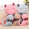 1pcs cute meow star Loveyly Cat pillow cushion creative plush toy doll cat  Children Girlfriend birthday gift