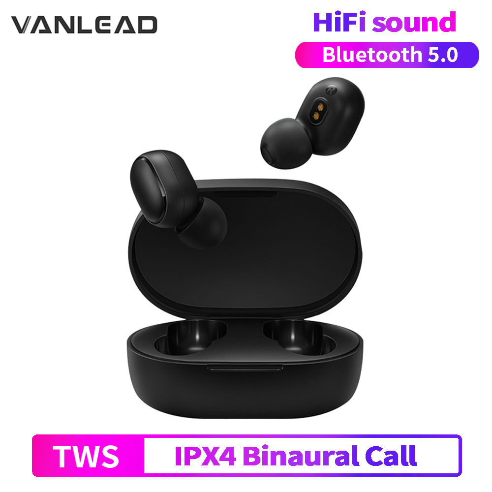 Wireless Bluetooth Earphone TWS 5.0  In-Ear Earbuds A6S Motion Stereo Noise Cancelling Earphone With Microphone For Xiaomi Redmi