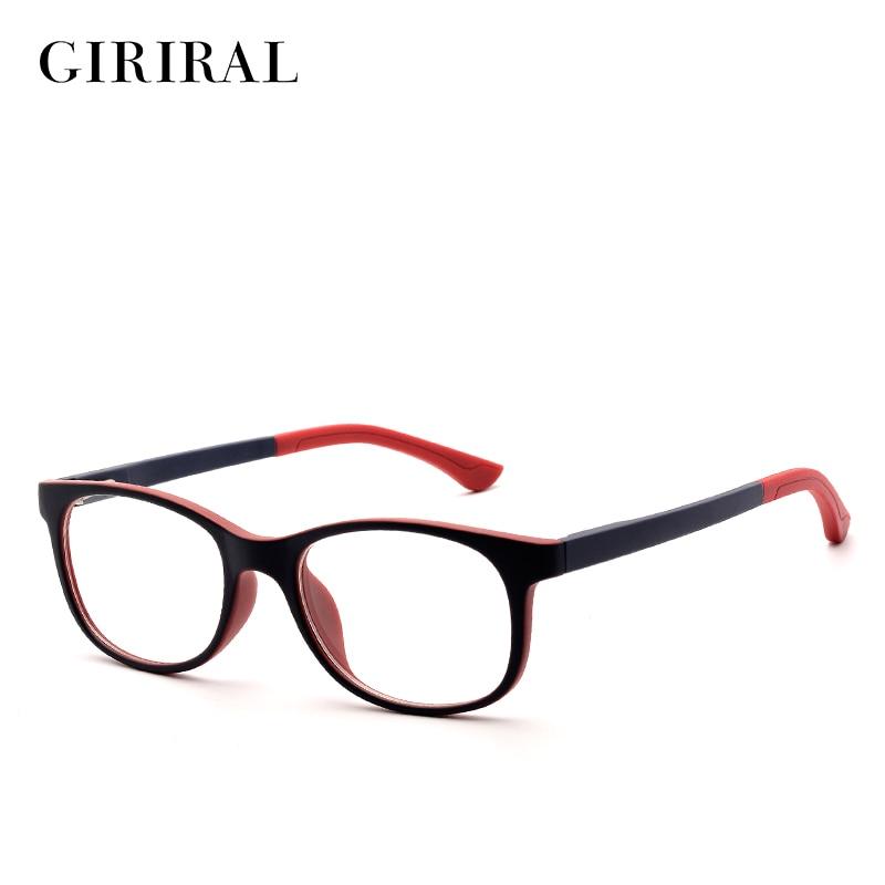 TR90 ბავშვები სათვალეების ჩარჩო მიმზიდველი ბრენდის მიოპიის დიზაინერი ოპტიკური სუფთა სათვალეების ჩარჩო # PF9947