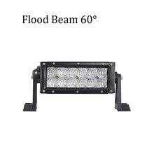 цена на ECAHAYAKU 1PCS 7.5inch 60W 5D Spot Flood LED Work Light Bar for Tractor Boat OffRoad 4WD 4x4 Truck SUV ATV Driving head light