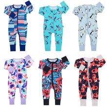 TinyPeople Infant Jumpsuit Long Sleeve Cartoon Romper Baby Boy Girl Clothes Cotton NewBorn Toddler Onesie Overall Outfit rompers