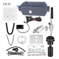 2/3Kw 5kw 8KW LCD/Knob/Digital Switch Single hole heater with muffler Black