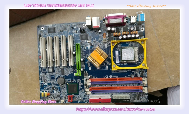 For 865G motherboard GA-8IG1000-G 5 PCI slots Fully integrated 865g 915g needle motherboard pm8m2 v integrated graphics card ddr1