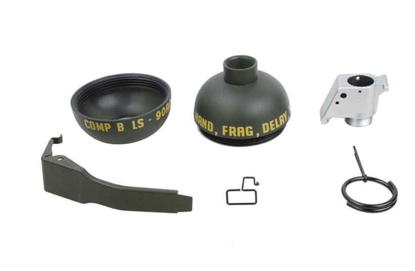 TMC QD M67 Green Pouch Dummy Model Quick Release OD Holder Set for Molle System