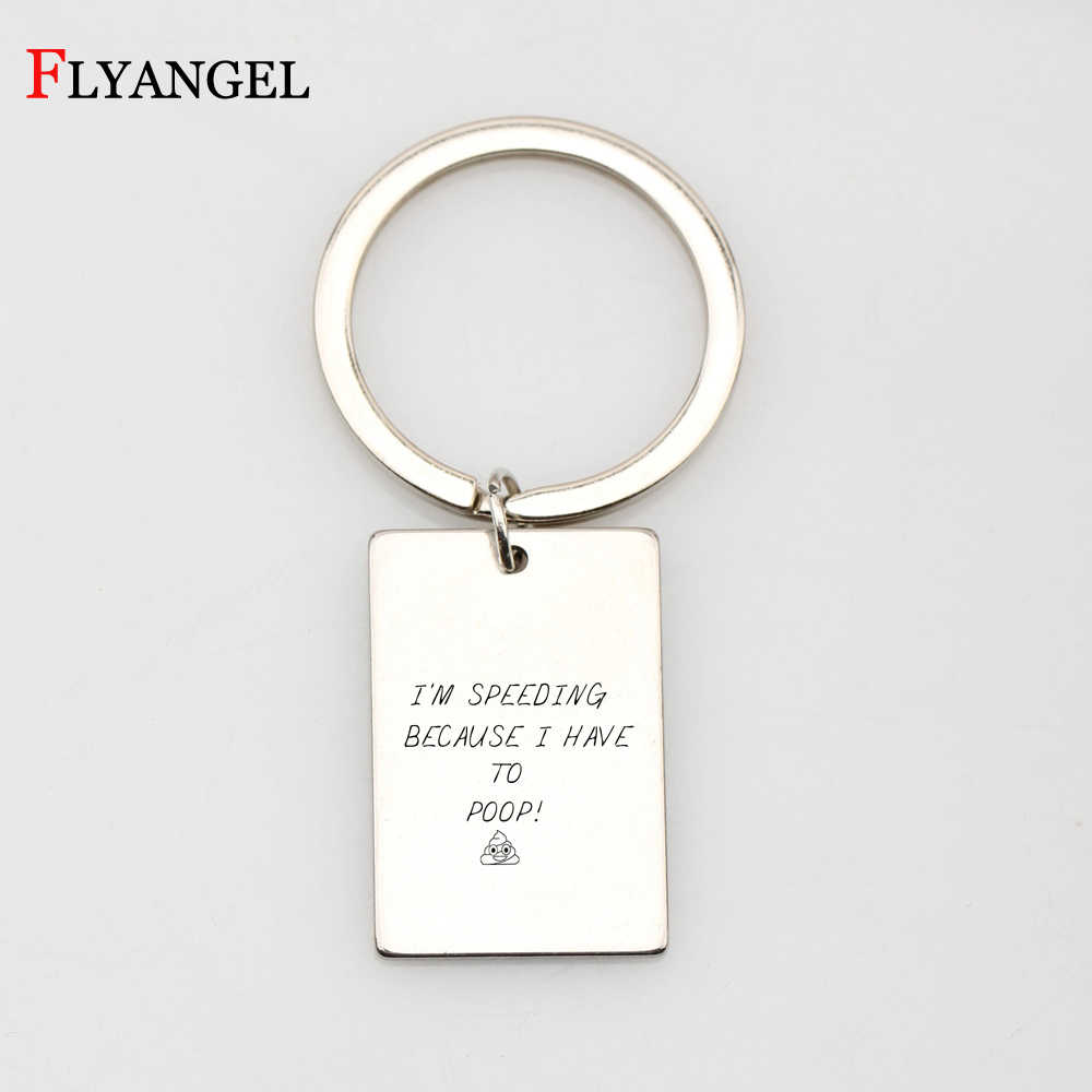 2018 New Fashion Keychains Letter