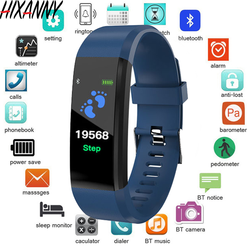 New Smart Watch Men Women Heart Rate Monitor Blood Pressure Fitness Tracker Smartwatch Sport Watch For Ios Android Reloj Bulsera(China)
