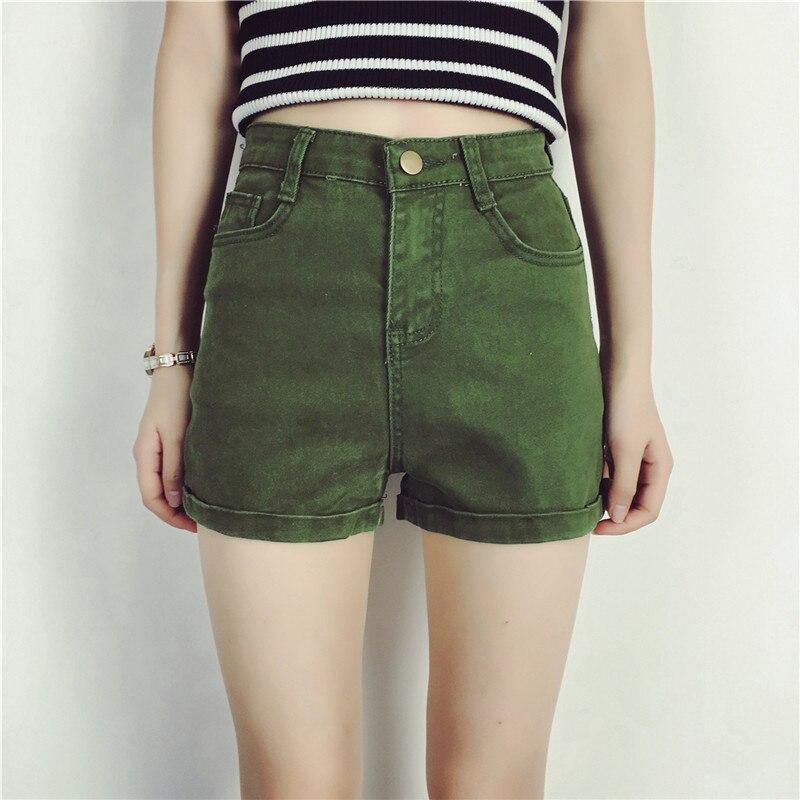 Popular Green Denim Shorts-Buy Cheap Green Denim Shorts lots from ...