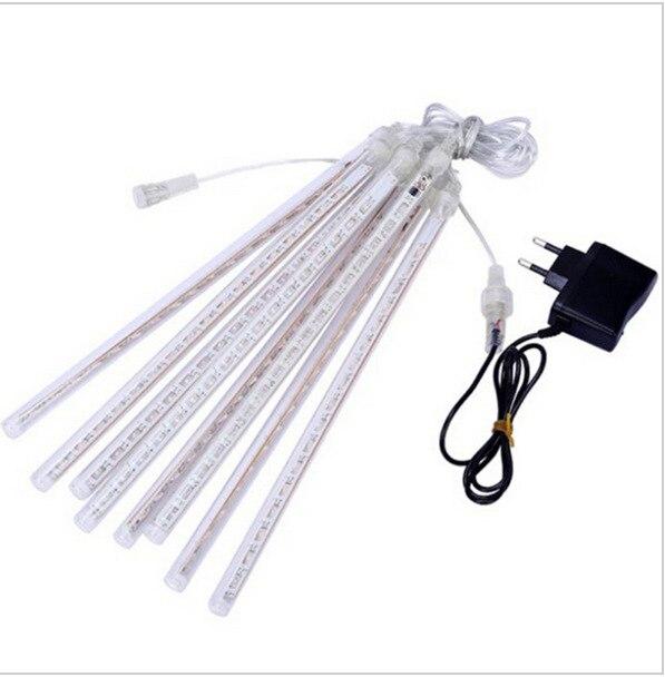 50CM 30CM 1 drag 8 mini meteor shower LED light bar set