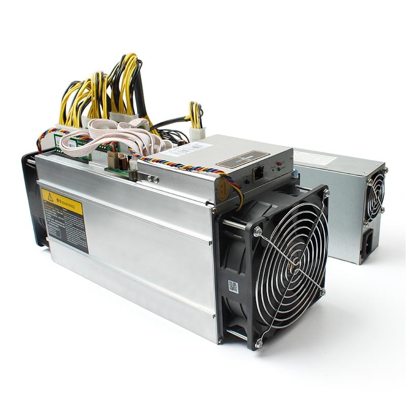 BITMAIN ANTMINER SHA-256 S9 13.5T with power supply APW3++ 1600W PSU IN HAnd Asic Miner 16nm Btc Miner Bitcoin Mining Machine