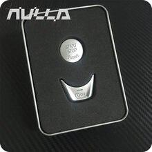 Наклейки для кнопки запуска и остановки двигателя NULLA, декоративная накладка для BMW 5 серии G30 G38 528i 530i 540i